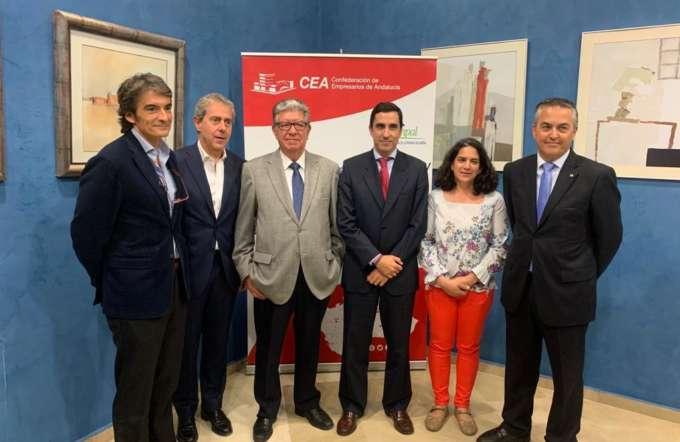 Presentación de la Acreditacion de COFAR ante la Junta de Andalucía