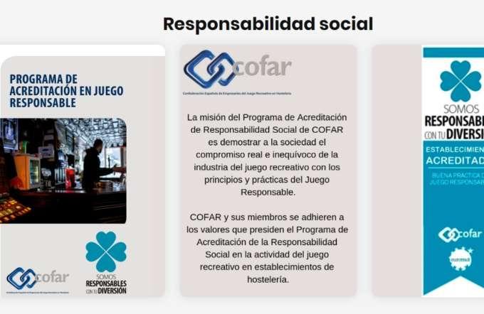 Programa de Acreditación en Juego Responsable COFAR